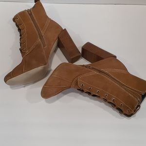 Jeffrey Campbell laceup boots size 9.5